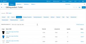 CS-Cart 4.8.1 mit Verbesserungen für Administratoren-5